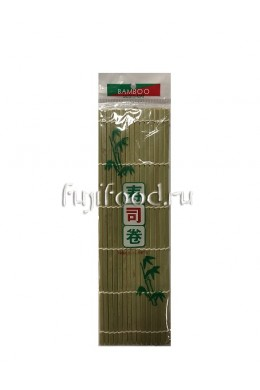 Циновка, коврик для роллов МАКИСО 27*27см  寿司帘