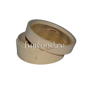 Пароварка бамбуковая для дим сам (Лукошки бамбуковые) 18см  竹笼屉