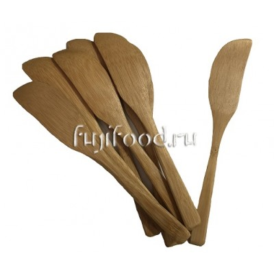Лопатка бамбуковая для фарша 16см