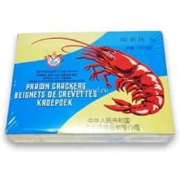 КРЕВЕТОЧНЫЕ ЧИПСЫ (PRAWN CRACKERS) 227 Г, КИТАЙ  龙虾片