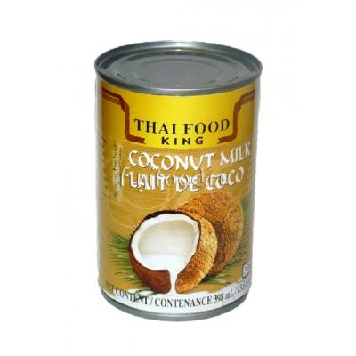 Кокосовое молоко (COCONUT MILK THAI FOOD KING) 400мл  椰浆