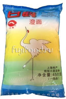 Крахмал пшеничный АИСТ для ДИМ-САМ 450г  白鶴澄面