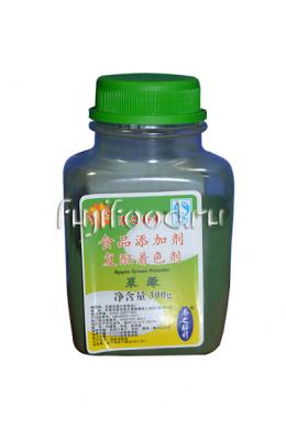 Краситель пищевой зеленый порошковый 300г  色素粉