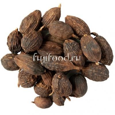 Орех Цаогу (ЦАУХУА) кардамон черный 100г  草果