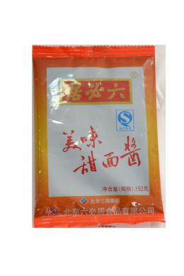 Паста соевая сладкая для утки ТИМИНЖАН 150г   六必居甜面酱