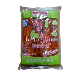 Перец чили красный маринованный 2кг  四川泡椒