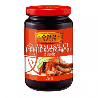 "Соус Чарсью Барбекю Ликумки (CHAR SIU SAUCE ""CHINESE BARBECUE MARINADE"" LEE KUM KEE) 397г  李錦記叉烧酱"