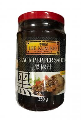 "Соус из черного перца ""BLACK PEPPER SAUCE LEE KUM KEE"" 350г  黑胡椒酱"