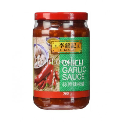 Соус Чили Гарлик Ликумки (CHILLI GARLIC SAUCE LEE KUM KEE) 368г  李錦記蒜蓉辣椒酱