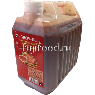 """Соус Чили сладкий для курицы """"AROY-D"""" (SWEET CHILLI SAUCE FOR CHIKEN) 5,4кг  甜辣鸡酱"""