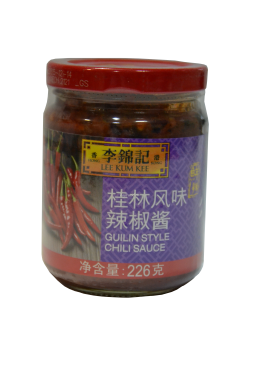 Соус Гуйлин Чили (GUILIN STYLE CHILI SAUCE LEE KUM KEE)  226г  李錦記桂林辣椒酱