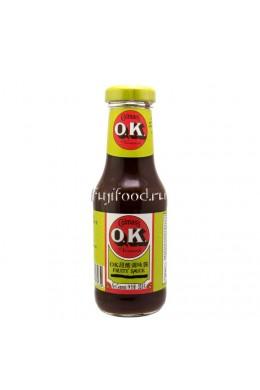Соус ОК фруктовый (COLMAN'S O.K. SAUCE) Великобритания 335г  OK 汁