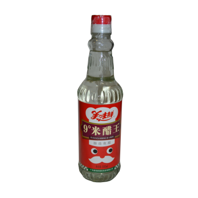 """Уксус рисовый белый 9% """"MEIWEIXIAN"""" 500мл  美味鲜白米醋"""