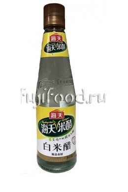 "Уксус рисовый белый 3,5% ""HADAY"" 450мл  海天白米醋"